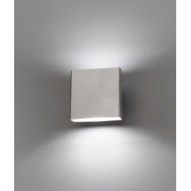 Lámpara aplique LED Kaula gris oscuro