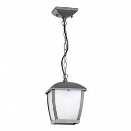 Lámpara colgante gris oscuro Mini Wilma Faro