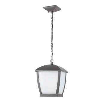 Lámpara colgante gris oscuro Wilma Faro