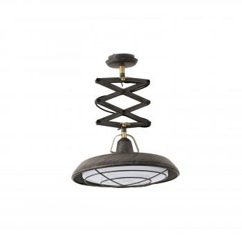 extensible marrón colgante envejecido LED Plec Faro Lámpara 3j45RLA