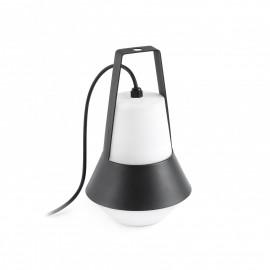 Lámpara portátil CAT negra Faro