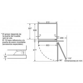Vinoteca integrable iQ700 Siemens