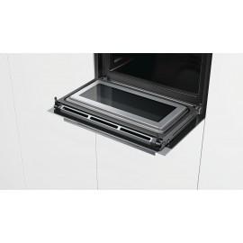 Horno Multifunción negro Inox. iQ700 Siemens pirolítico