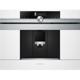 Cafetera integrable cristal negro inox. Siemens