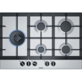 Placa de gas 5 fuegos  Inox  Siemens iQ500