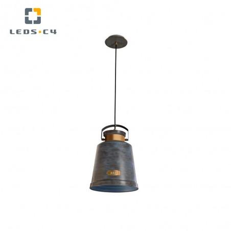 Lámpara colgante gris envejecido Vintage Leds C4