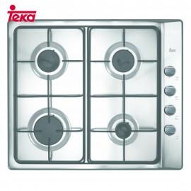 Placa de gas 4 fuegos Ex 60.1 4G Inox. 40207240 Teka