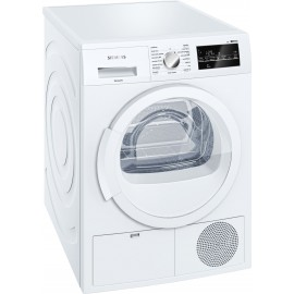 Secadora 8kg Blanca iQ500 Siemens