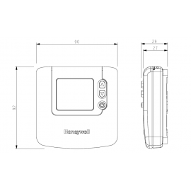 Termostato Ambiente Digital Honeywell