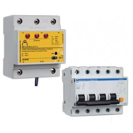 Kit protectores de sobretensiones AT Control Aplicaciones Tecnológicas