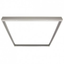 Marco superficie panel LED ZELEK 60 x 60 mm.Secom